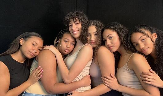 Samara and Natalie participated in a Black Girl Magic photoshoot.