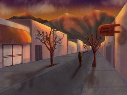 desolate city by ceci perez