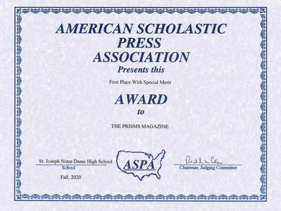 prisms award