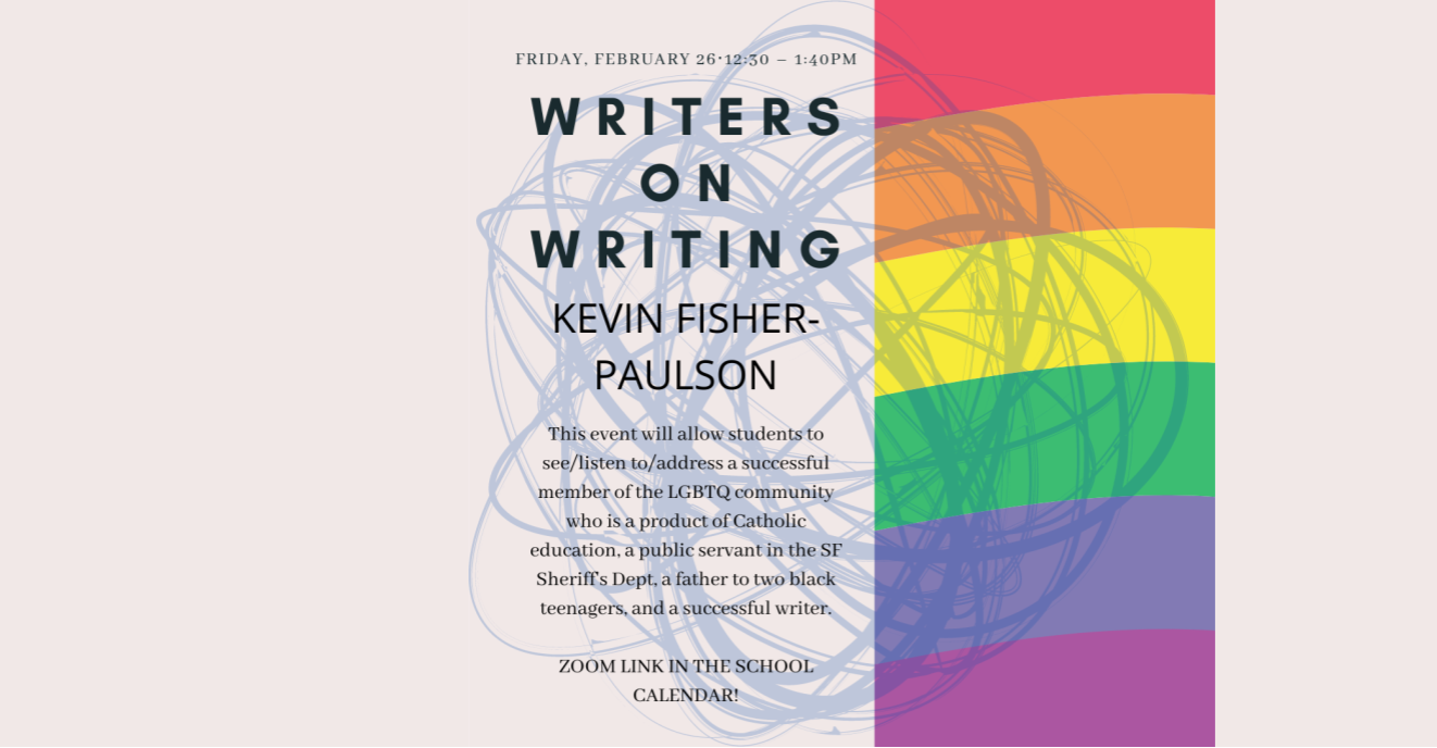 Writers on Writing: Kevin Fisher-Paulson