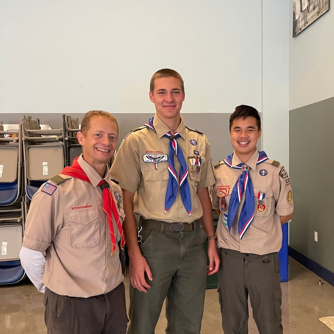 Leaving the Comfort Zone - JP '22 Receives Boy Scouts Highest Ranking